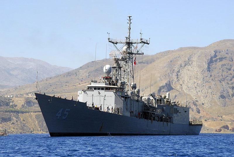 Такие эсминцы проекта Oliver Hazard Perry собирается приобрести Украина.
