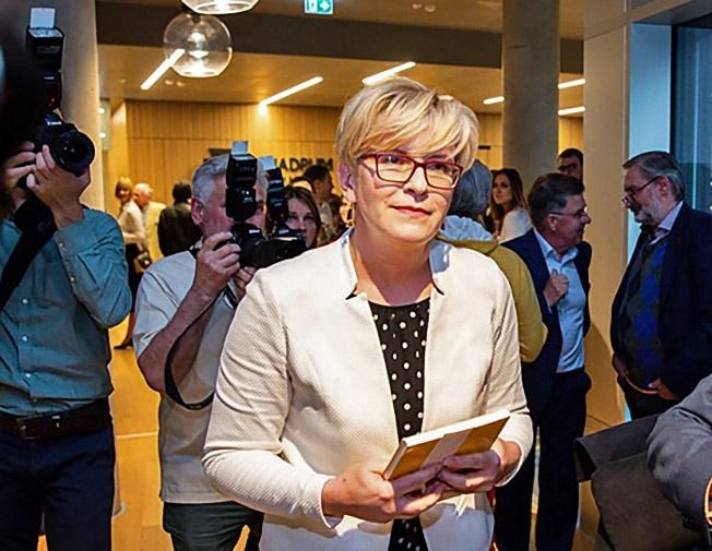 «Серебряный призёр» Ингрида Шимоните призвала готовиться к переговорам с Россией.