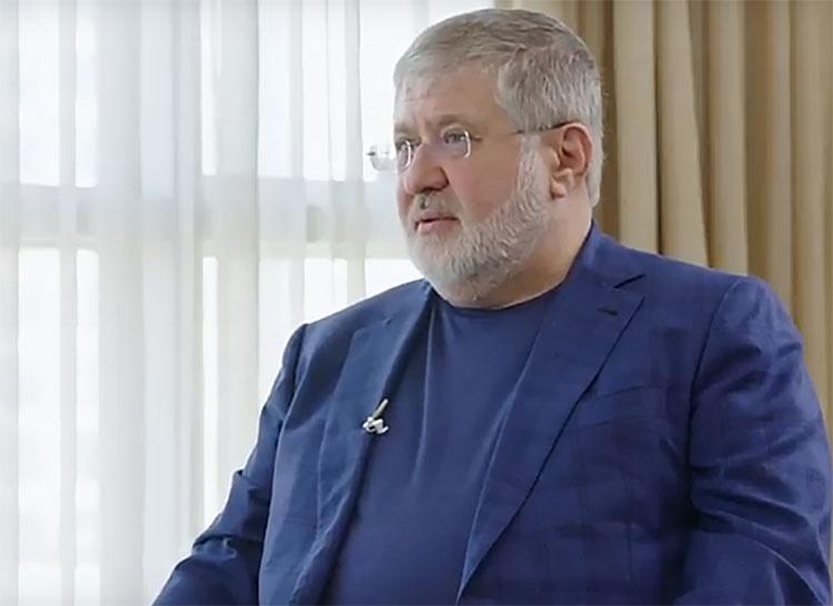 Олигарх Игорь Коломойский стоял за спиной Зеленского.