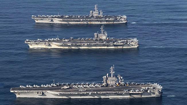 Авианосный флот США: сто тысяч тонн стратегической глины