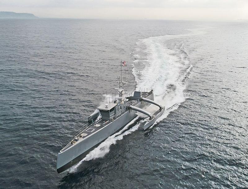 Беспилотный корабль Sea Hunter.