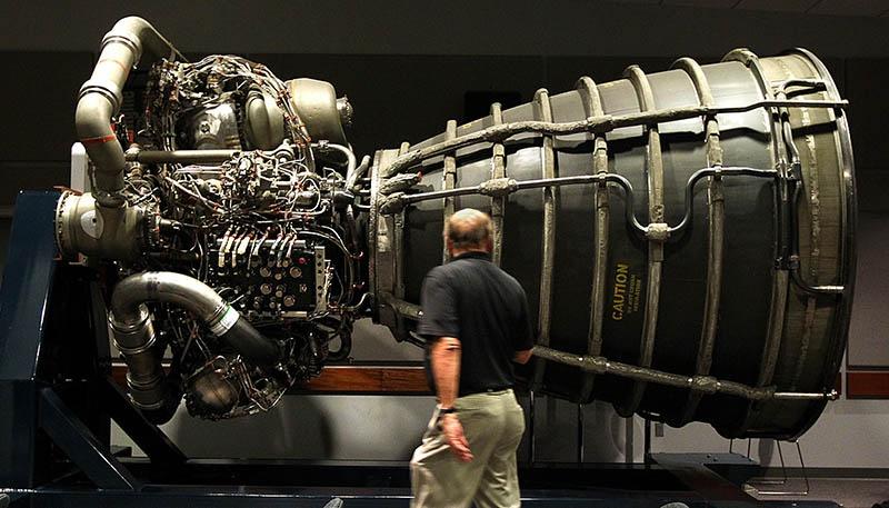 Жидкостный реактивный двигатель.