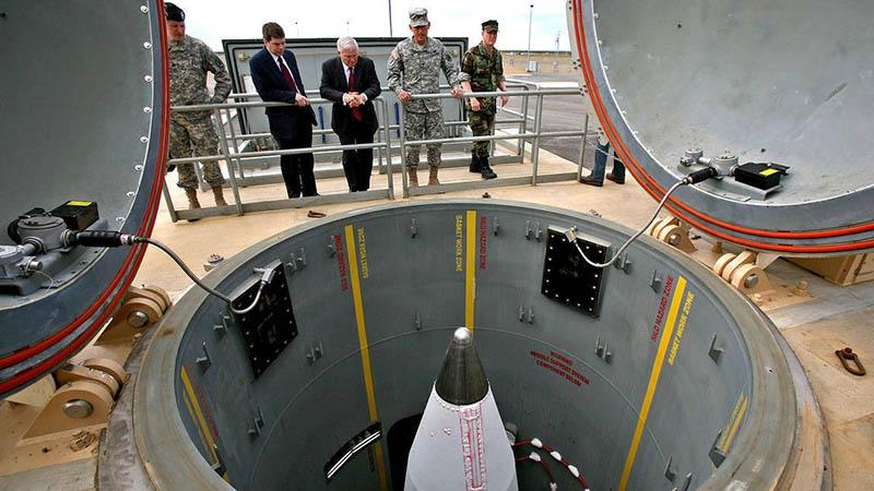 Стартовая площадка ракет-перехватчиков стратегической системы ПРО.