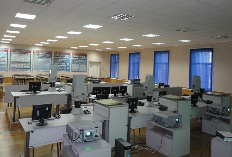 Для нужд академии был разработан целый ряд инновационных учебно-тренировочных средств
