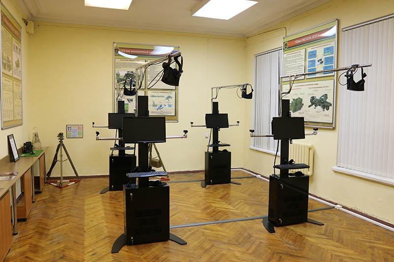 Учебно-тренировочное средство «Артерра-ВТ-3D» используется как в образовательной деятельности академии, так и в боевой подготовке войск.