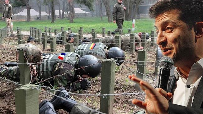Зеленский проводит курс молодого бойца для лидеров Европы. На мове