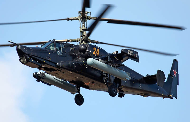 Ка-50 сумел выполнить фигуру пилотажа «мёртвая петля», которую не в состоянии выполнить более ни один вертолёт в мире.