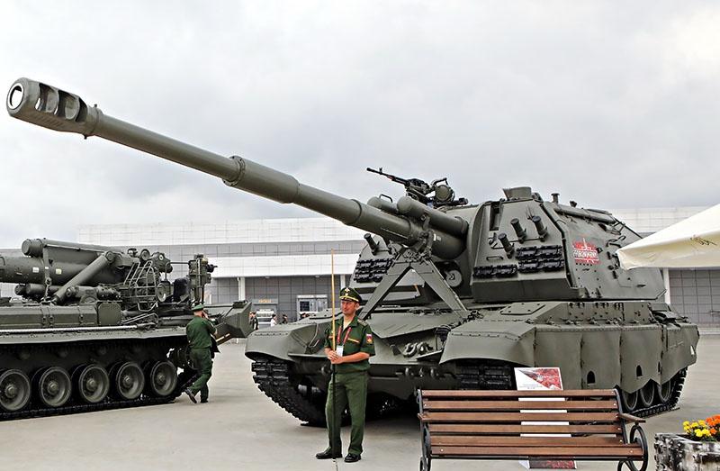 Модернизированная «МСТА-С» получила автоматизированную систему управления наведением и огнём «Успех».