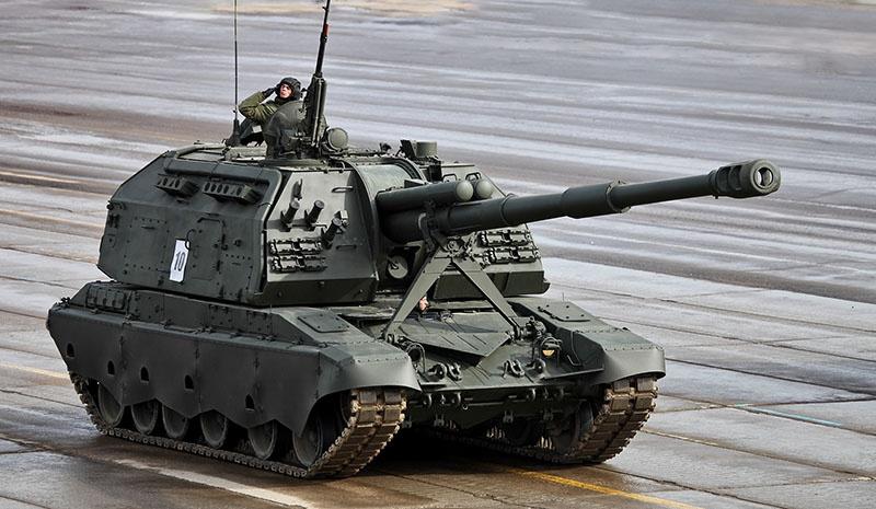 Универсальный артиллерийский боец - САУ «МСТА».
