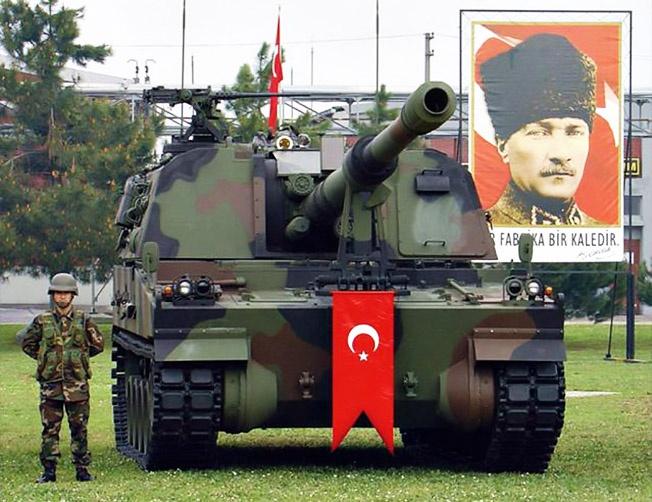 Турция приобрела лицензию на производство К9 под именем T-155 Firtina.