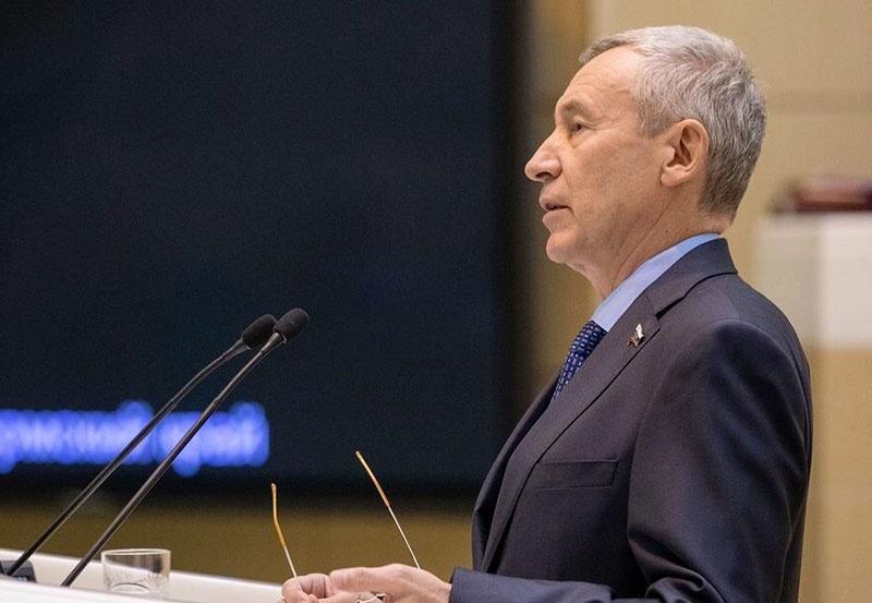 Заместитель председателя Совета Федерации по международным делам Андрей Климов.