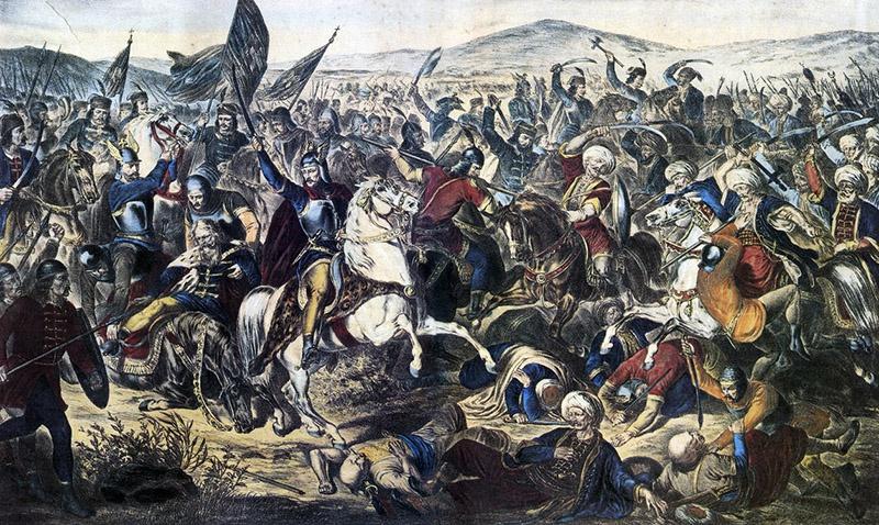 Косовская Битва, 1389.
