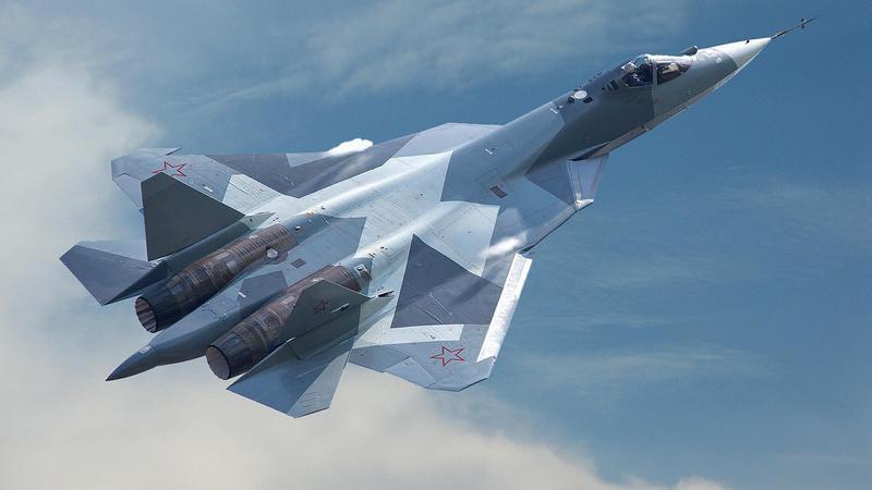 Холдинг «Сухой» поставит Воздушно-космическим силам 76 истребителей 5-го поколения Су-57.
