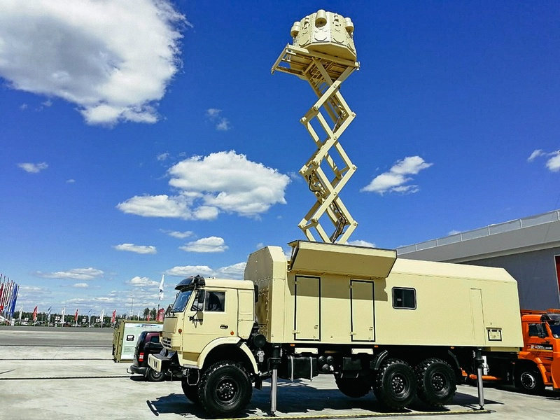 Станция радиотехнической разведки ПОСТ-3М.