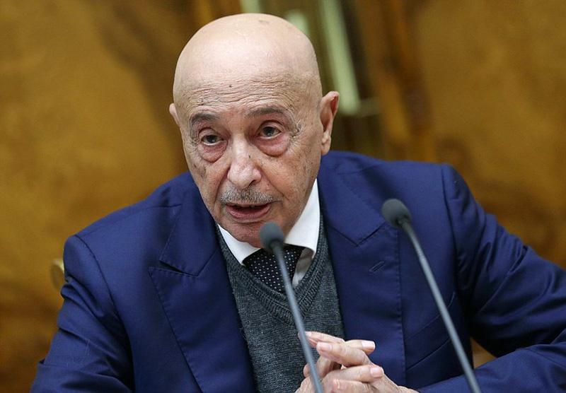 Председатель Палаты депутатов Ливии Агила Салех.