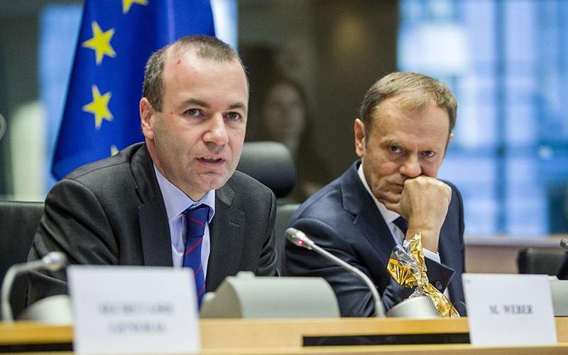 Манфред Вебер должен стать спикером Европарламента.
