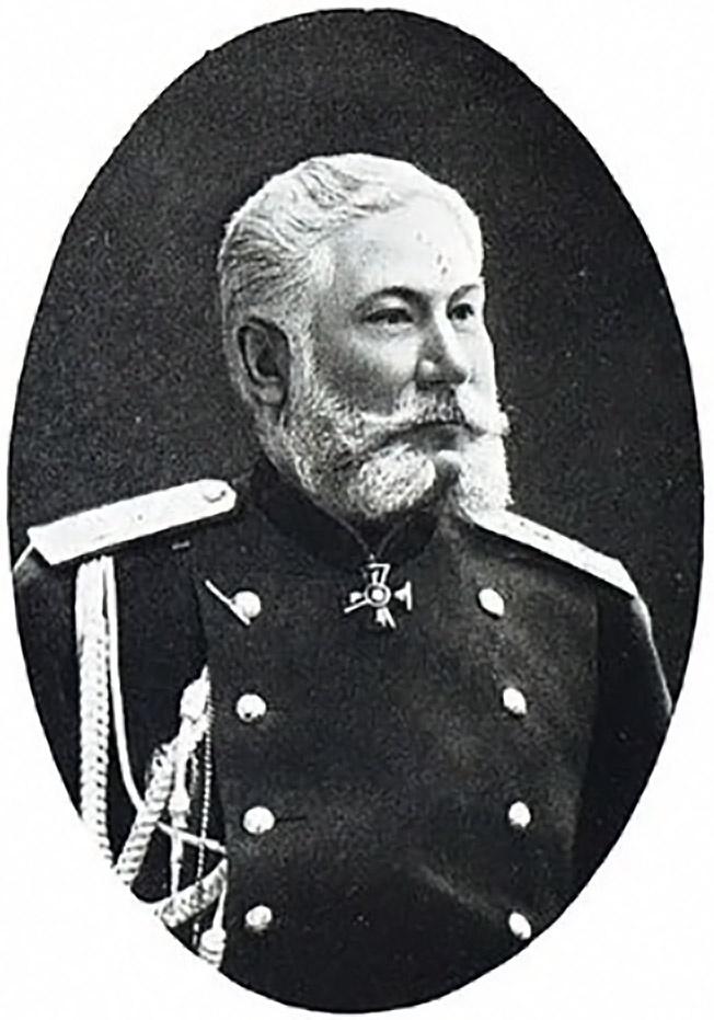 Директор департамента полиции генерал-лейтенант Николай Петров.