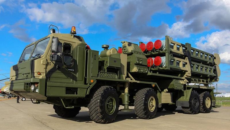 Зенитный ракетный комплекс С-350 «Витязь».