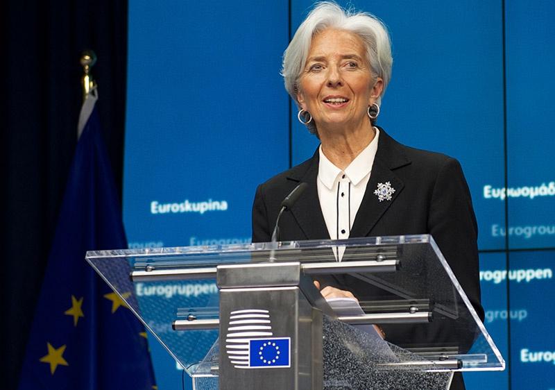 Кристин Лагард номинирована на пост руководителя Европейского Центробанка.