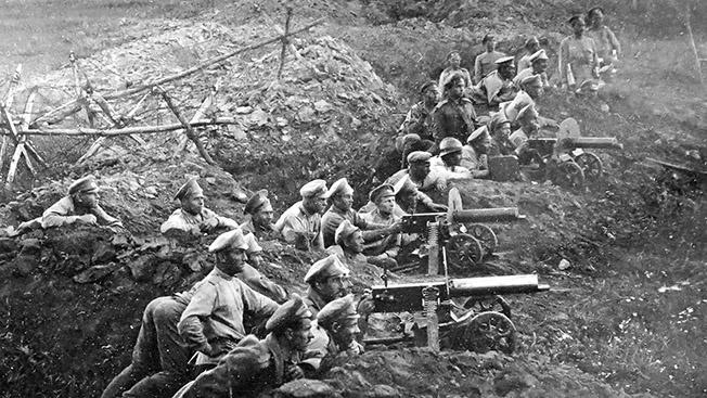 «Мосинка» и другие: топ-5 оружия времён Первой мировой войны