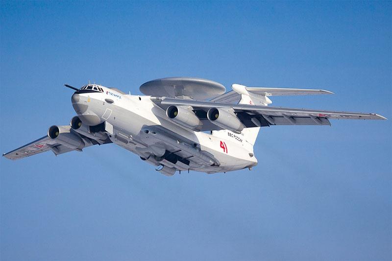 Российские самолёты дальнего радиолокационного обнаружения А-50 будут контролировать воздушную обстановку над Чёрным мoрем.