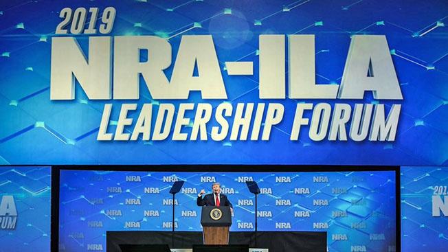 Трамп и оружейное лобби США
