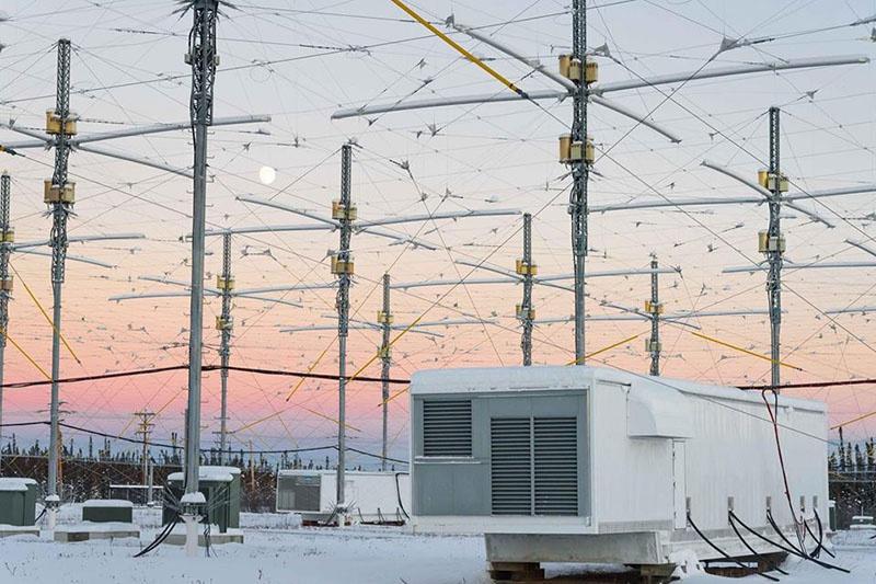 Центр HAARP на Аляске.
