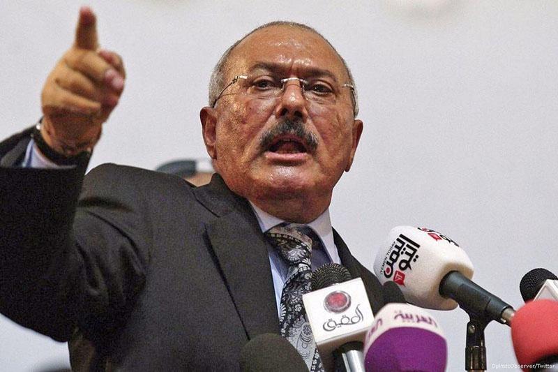 Президент Йемена Салех пал от рук боевиков-хуситов.