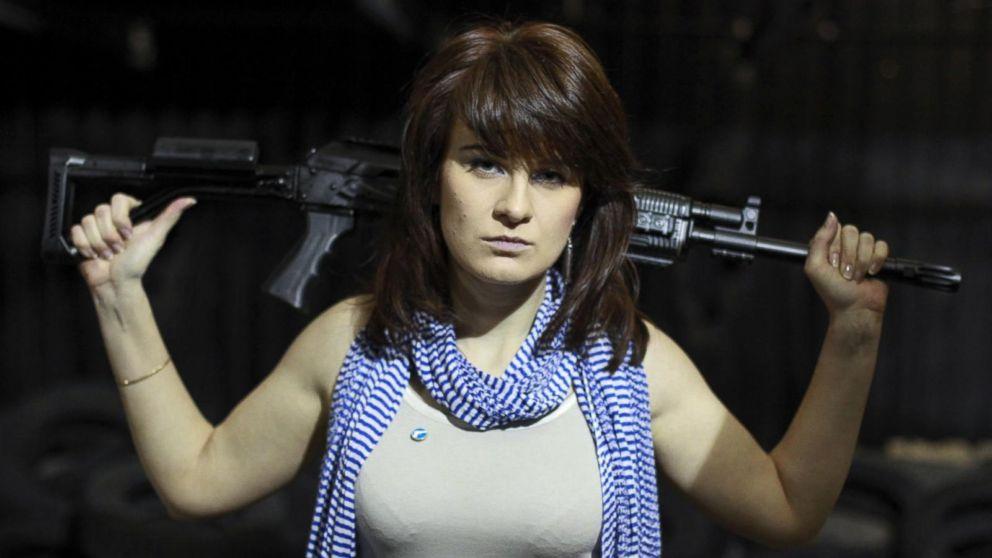 Арестованная в США Мария Бутина она была одним из основателей российской общественной организации «Право на оружие».