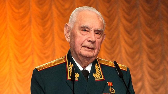 Участник Курской битвы, генерал-полковник Борис Уткин.