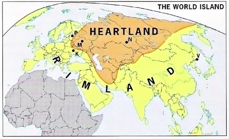 Римленд vs Хартленд.