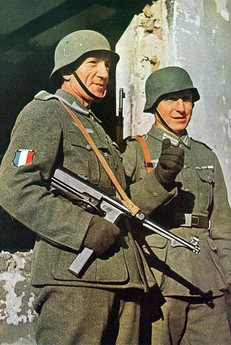 Легионеры штурмового батальона «Шарлемань» стали последними защитниками нацистской Германии.
