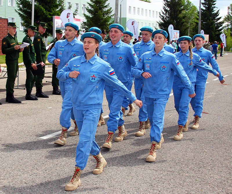 Ксюша Ананина - командир отряда из Кировской области.