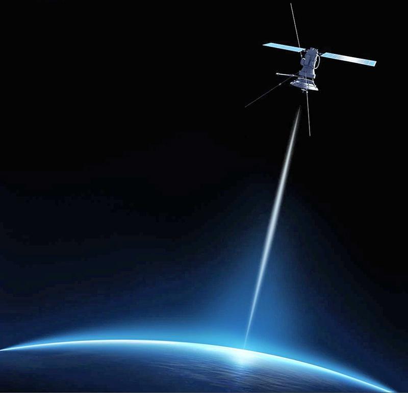 Оружие направленной энергии - космические лазеры.