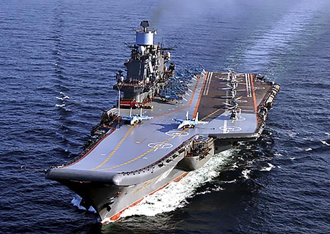 Крейсер «Адмирал Флота Советского Союза Кузнецов».