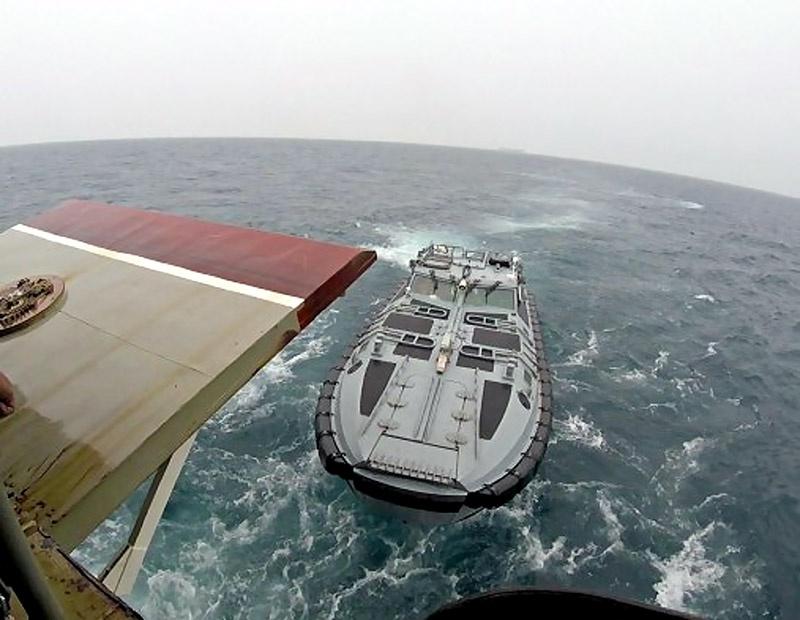 Десантно-штурмовая лодка.