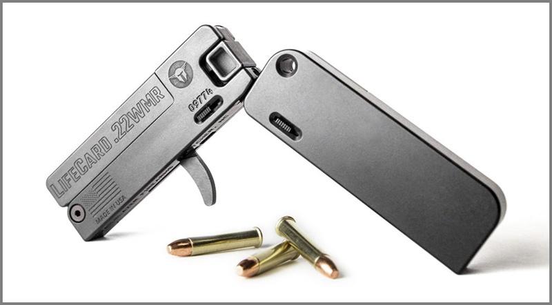 LifeCard .22 Magnum.