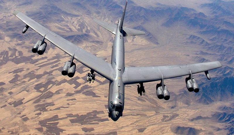 В-52 с базы Фэрфорд в Великобритании могут долететь до Ирана.