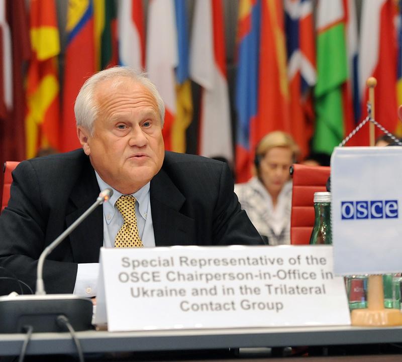Специальный представитель ОБСЕ Мартин Сайдик.