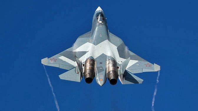 Су-57 обладает сверхманёвренностью.