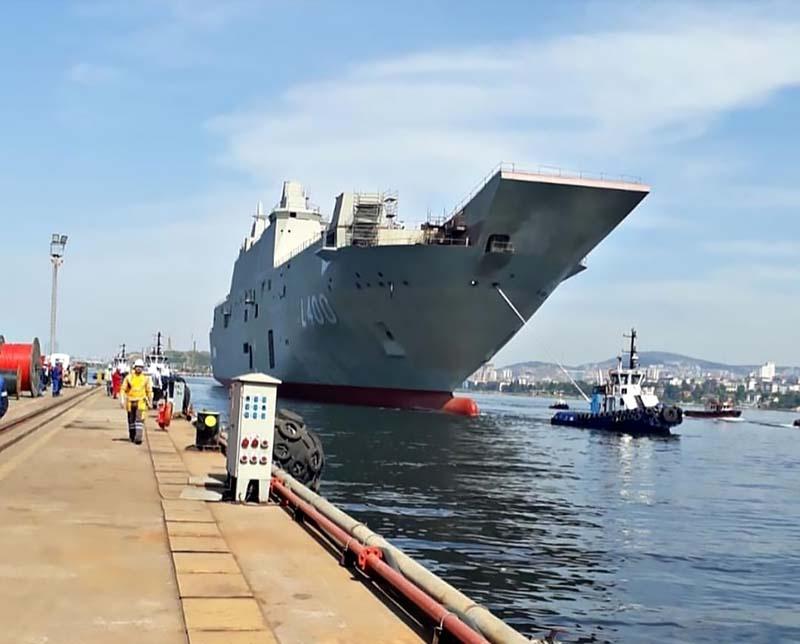 Турецкий Anadolu станет cамым крупным боевым кораблем в истории турецкого флота.