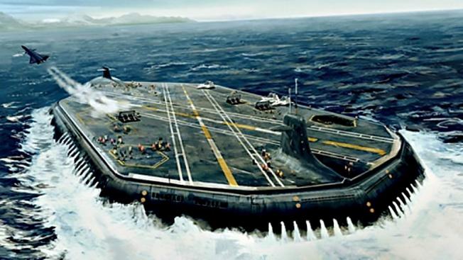 Будущее за подводными авианосцами или «для русских всё возможно»