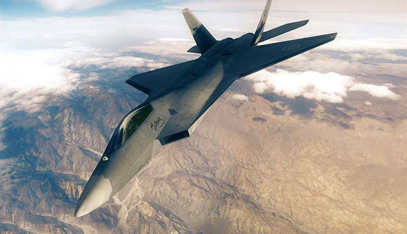 TF-X похож и на американский F-22 и на китайский FC-31.
