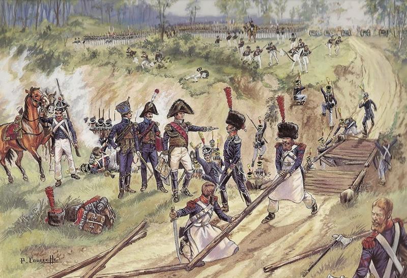 Генерал Гюден - сражение при Валутиной Горе.