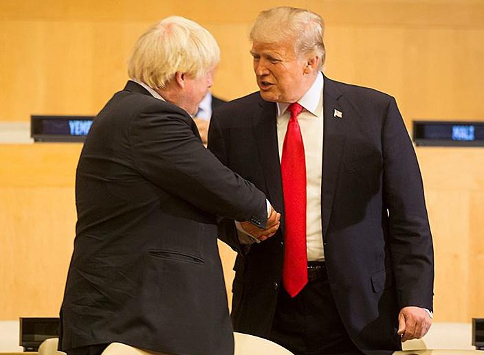 Дружба Джонсона с Дональдом Трампом - единственный позитивный момент.