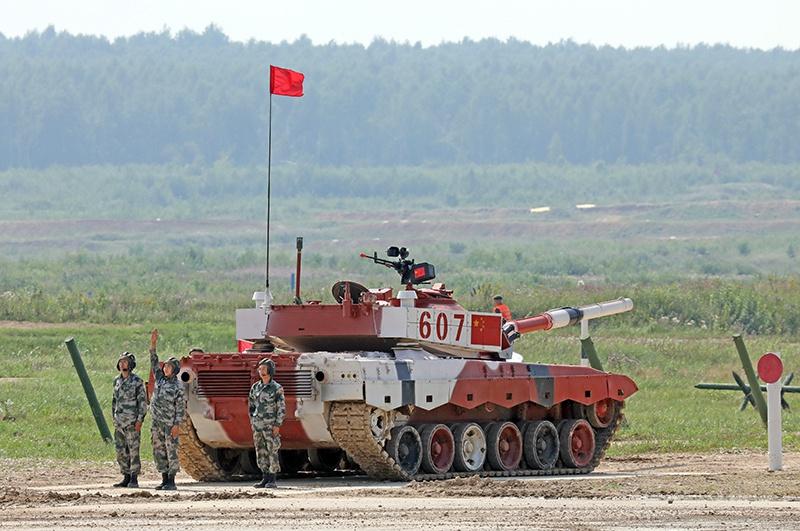 Сборная КНР выступит на своих штатных Type-96B.