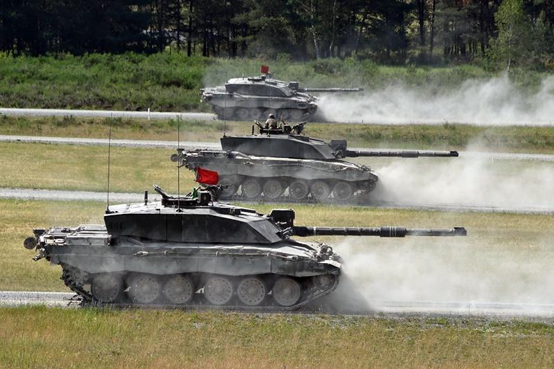 Cоревнования танковых взводов Strong Europe Tank Challenge/