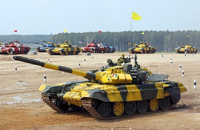 Большинство участников международного конкурса танкистов выступят на российских модернизированных танках Т-72Б3.