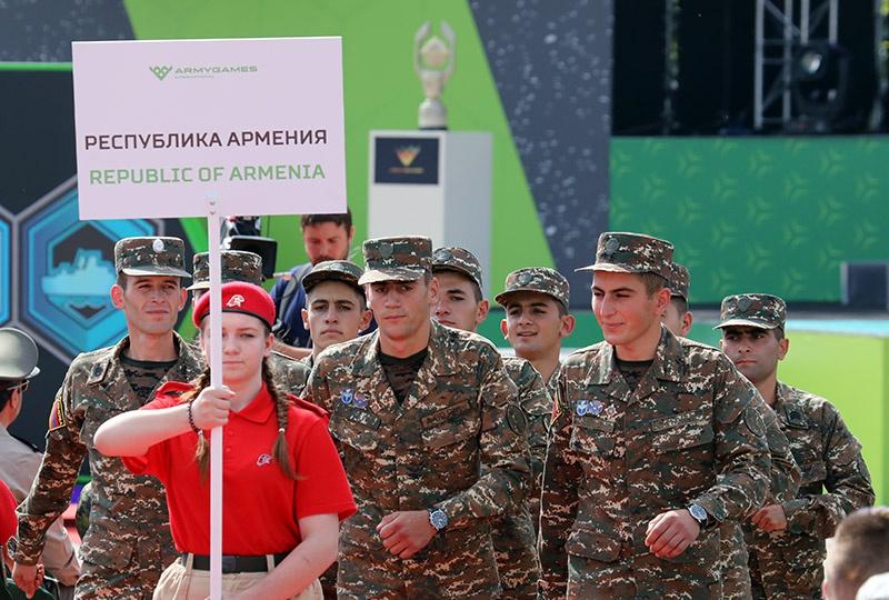 Команда Армении на «АрМИ-2018».