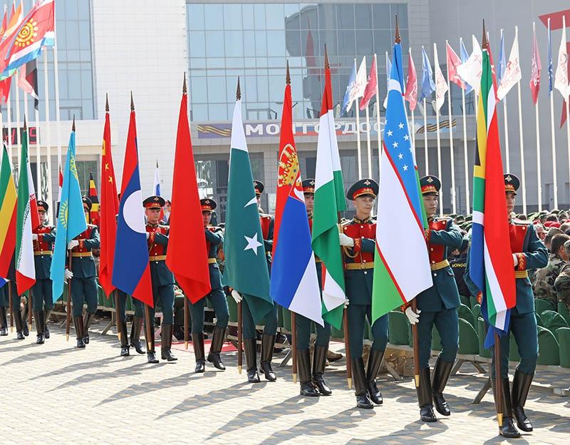 В Армейских международных играх участвуют солдаты из многих государств.